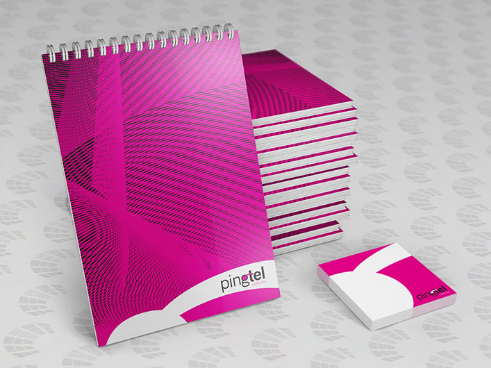 Custom Printed Notepads and Sticky Notes